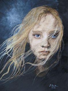 Cosette aus dem Filmmusical Les Miserables - Jutta Bachmann