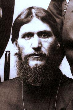 The beaming eyes of Rasputin in a photo taken in c. 1905.