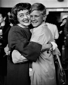 It's Bette! with her son, Michael