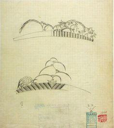 teo patterns: Diademe, Dagobert Peche, 1916