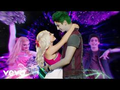 """We're gonna be someday! No we won't break we're more than flesh & bone! 🎶 Watch the Cast of ZOMBIES 2 mashup """"Someday"""" from ZOMBIES and """"Flesh & Bone"""" from Z. Zombie Disney, Zombie 2, Music Songs, Music Videos, Chandler Kinney, Zombie Music, Meg Donnelly, Baby Ariel, Walt Disney Records"""