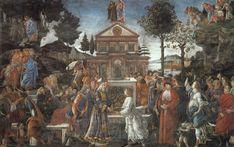 Prove di Cristo è il titolo di un affresco (345,5 x 555 cm) di Sandro Botticelli e aiuti, realizzato tra il 1480 e il 1482 e facente parte della decorazione del registro mediano della Cappella Sistina
