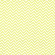 Quilter's Showcase Fabric- Chevron Green & White