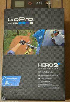 GoPro Hero3+ (Plus) Black Edition - First Look