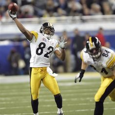 3c46f972c59 Antwaan Randle El throws a touchdown pass in Super Bowl XL. If he had to go  back and do it all again, he said he wouldn't play football.