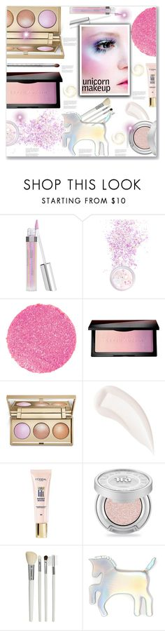 """""""Unicorn Beauty"""" by sweta-gupta ❤ liked on Polyvore featuring beauty, Bare Escentuals, In Your Dreams, Surratt, Kevyn Aucoin, Stila, By Terry, L'Oréal Paris, Urban Decay and Cath Kidston"""