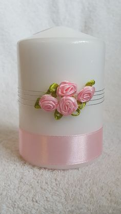 Pink Roses from welshwaxesandcrafts.co.uk