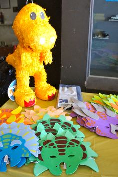 Dinosaur Train Birthday party fun stuff for kids