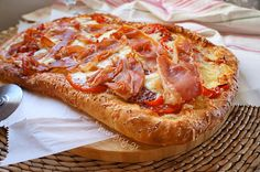 Dough for Everything DIY-Pizza, Dough for Everything DIY-Pizza Recipes, Pizza Dough Gf Recipes, Greek Recipes, Food Network Recipes, Food Processor Recipes, Cooking Recipes, The Kitchen Food Network, Bread And Pastries, Anna, Creative Food