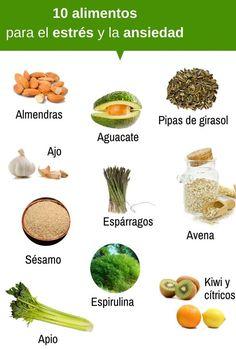 Alimentos que ayudan a calmar la ansiedad