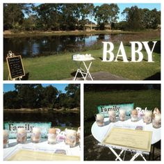 Baby naming in the park at Meadowbrook