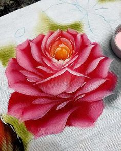 Fabric Painting, Diy Painting, Donna Dewberry, Watercolor, Embroidery, Bambi, Abstract, Drawings, Flowers