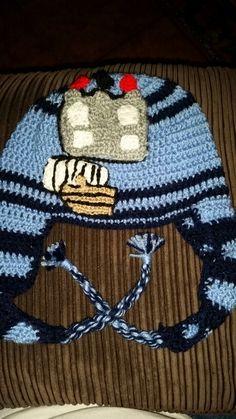 Dublin GAA crochet hat Dublin, Ireland, Crochet Hats, Beanie, Beautiful, Fashion, Knitting Hats, Moda, Fashion Styles