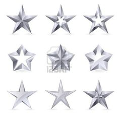 Buy Different Types and Forms of Gold Stars by Dvarg on GraphicRiver. Different types and forms of gold stars. Illustration for design on white background Texas Tattoos, Star Tattoos, Tatoos, Tattoo Templates, Drawing Clipart, House Of Beauty, Irezumi, Elements Of Art, Star Designs