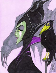 Warm Up 2-16, Maleficent by Hodges-Art on DeviantArt