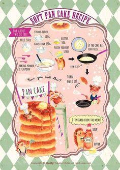 Soft Pan Cake Recipe