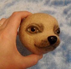 Один из способов изготовления собачьей мордочки - Ярмарка Мастеров - ручная работа, handmade