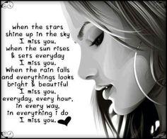 ♥I miss you♥