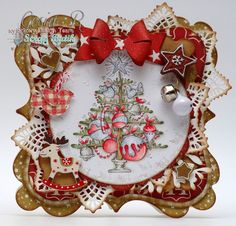 Pisane papierem: Waiting For Christmas Tree.  This is a fantastic card!!
