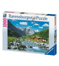Puzzle Ravensburger 1000 pz Monti Karwendel, Austria Austria, Puzzle, Ebay, Lithuania, Puzzles, Puzzle Games, Riddles