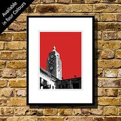 Oxo Tower London Art Print - contemporary art