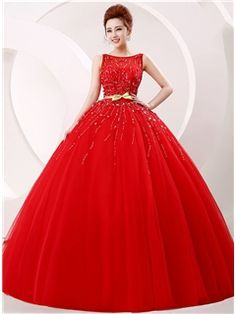 Unique Jewel Beading Ball Gown Wedding Dress purchase from Ericdress.com on discounted price.