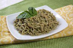 Simply the Pesto Spaghetti | Hungry Girl