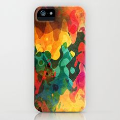 Color y psicodelia iPhone & iPod Case by Viviana González - $35.00
