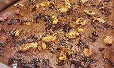 Brownie de chocolate com biomassa de banana verde