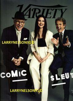 Variety Magazine, Martin Short, Steve Martin, Cover Pics, Selena Gomez, Vip, Movie Tv, Magazines, Brand New