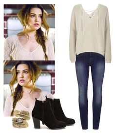 Davina Claire - The Originals by shadyannon on Polyvore featuring polyvore fashion style River Island Nly Shoes Natalie B women's clothing women's fashion women female woman misses juniors