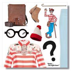 """Where's Waldo?"" by jleigh329 ❤ liked on Polyvore featuring VIVETTA, ASOS, The Bridge, Lucky Brand, whereswaldo, 2016, waldo and vivetta"