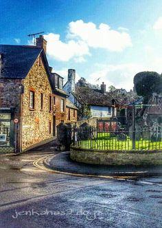 Porlock Village.