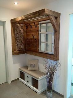 Diy Wooden Projects, Home Projects, Home Fix, Lodge Decor, Home Additions, Bathroom Interior, Home Interior Design, Home Remodeling, Home Furniture