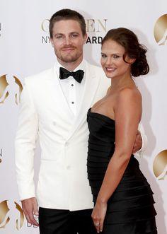 Stephen Amell ('Arrow' Star) & Wife Cassandra Jean