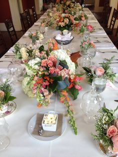 Bridesmaid Luncheon! Charleston Style! Design by Bella Baxter Special Events, Flowers by Tanarah Luxe Floral