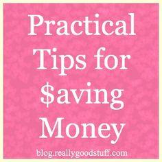Practical Tips for Saving Money - Really Good You Series | Teacher's Lounge Blog | Really Good Stuff®