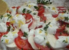 Caprese Salad, Potato Salad, Salads, Food And Drink, Cooking, Ethnic Recipes, Desserts, Hampers, Diet