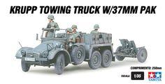 Krupp Towing Truck com 37mm Pak