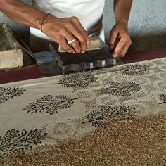 Textile Tours India - Our own organized textile tour in Rajasthan. Private Group tour of max.
