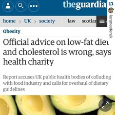 """#Repost @laranesteruk with @repostapp.  Bom dia para quem acordou lendo uma matéria belíssima estampando o The Guardian!  Além de chamar atenção para o fato de que fazer lanchinhos entre as refeições (""""snacking"""") está engordando as pessoas o Forum Nacional de Obesidade e Colaboração de Saúde Pública Britânica declarou em relatório que orientar pessoas a fazer uma dieta de baixa gordura trouxe desastrosas consequências para a saúde! Por este motivo estão exigindo que se revise as atuais…"""