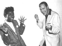 Little Richard and Bill Haley. Rock and Roll ! 50s Music, Rockabilly Music, Rock And Roll, Bill Haley, Soul Funk, Original Song, Greatest Songs, Classic Rock, The Beatles