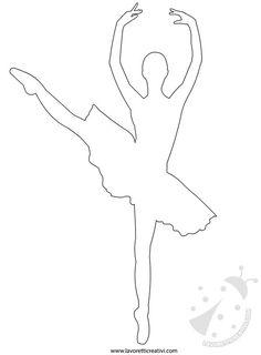cartamodelli pannolenci ballerina Ballerina Painting, Ballerina Art, Ballet Art, Diy And Crafts, Crafts For Kids, Paper Crafts, Christmas Decorations To Make, Christmas Crafts, Ballet Crafts