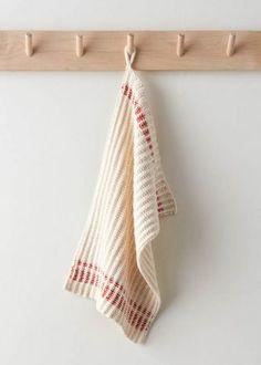 Farmhouse Dishtowels | Purl Soho Knitted Dishcloth Patterns Free, Beginner Knitting Patterns, Knit Dishcloth, Knitting Stitches, Knitting Projects, Craft Projects, Craft Ideas, Farmhouse Dishtowels, Baby Patterns