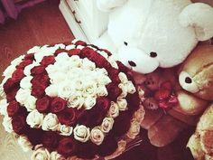 #love #roses #teddybear #valentinesday