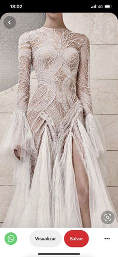 Beautiful Inside And Out, Atelier Versace, Bronze, Glamour, Gowns, Chic, Wedding Dresses, Lace, Sexy
