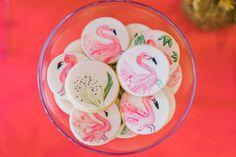 Little Wish Parties | Tropical Flamingo First Birthday | https://littlewishparties.com