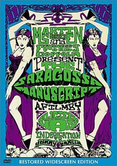 """Rękopis znaleziony w Saragossie"", aka ""The Saragossa Manuscript"", fantasy drama-comedy film by Wojciech Has (Poland, 1965)"
