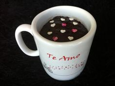 Microwave Chocolate Mug Brownie. a super easy but super delicious mug brownie recipe that always works perfectly for me. nice little treat to cheer up upset small children, big children, and adult children, too.