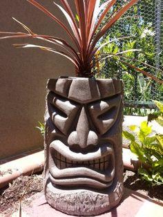 Angry Tiki Planter NEW COLOR (Brazilian)